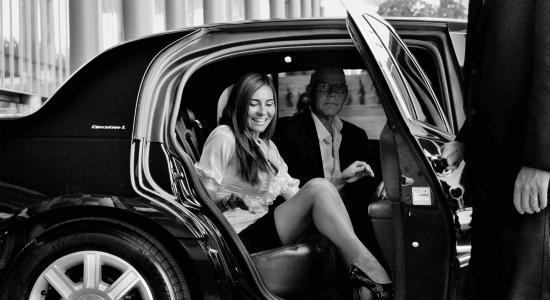 luxury driver
